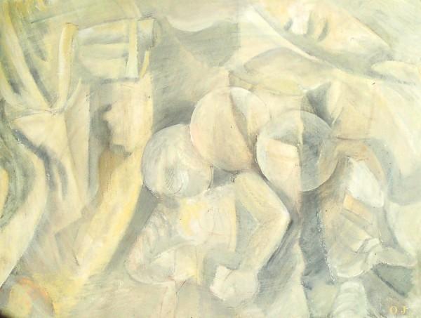 olivier jeunon,gouache,peinture