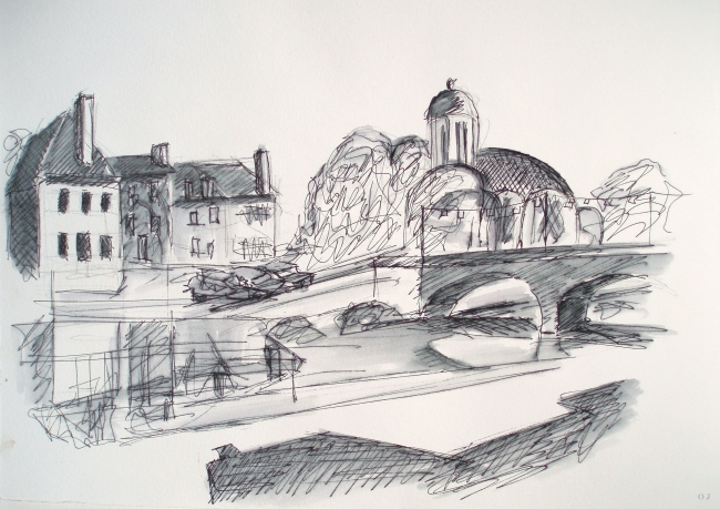 olivier jeunon,clamecy,nièvre,dessin,encre