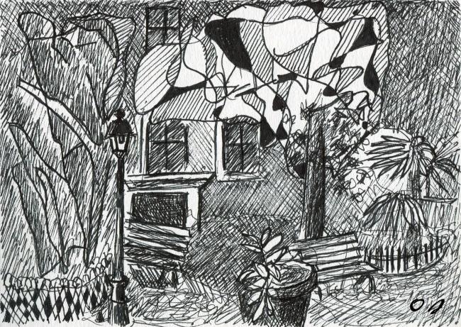olivier jeunon, dessin