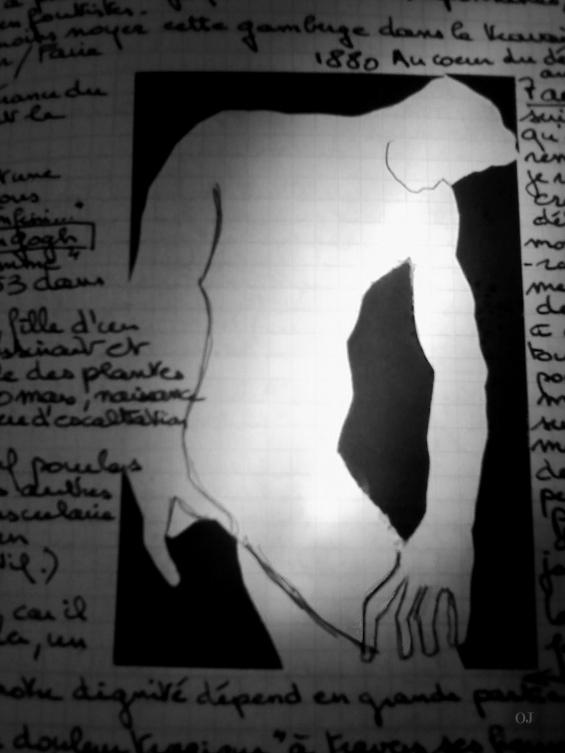 olivier jeunon,collage,journal,carnet de voyage,encre