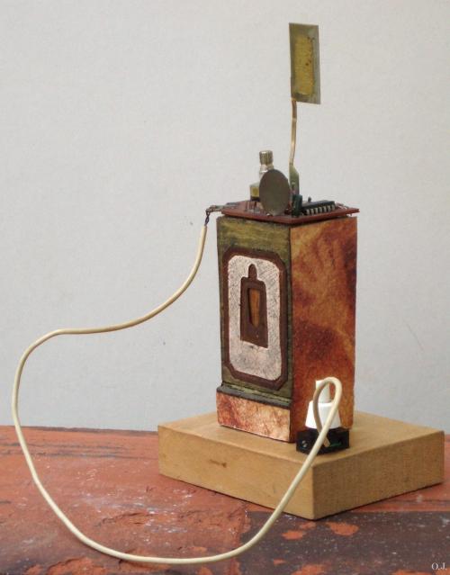 olivier jeunon,sculpture,métal,assemblage sonore,