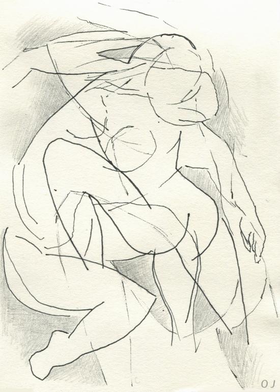olivier jeunon,encre,crayon,dessin,