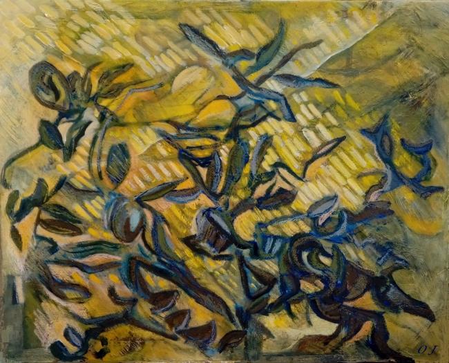 olivier jeunon, pré saint gervais, peinture