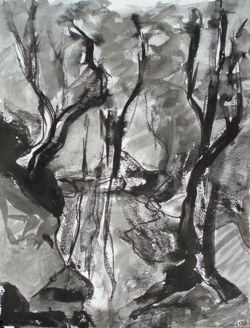 olivier jeunon,morvan,encre,dessin